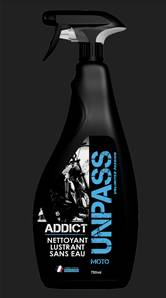 ADDICT sans eau 750ml + Microfibre