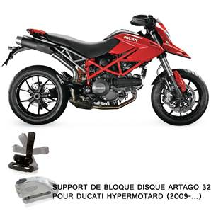 SUPPORT ADAPTABLE 32 DUCATI HYPERMOTARD (2009-…)