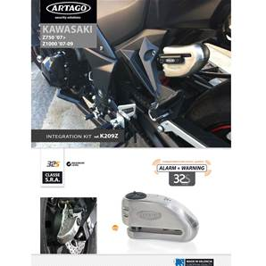 SUPPORT ADAPTABLE 32 KAWASAKI Z1000 (2007-2009) Z750 (2007-…)