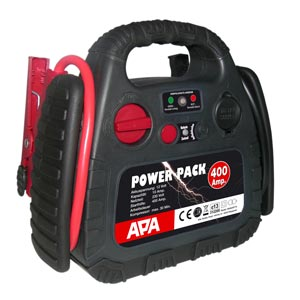 Aide au démarrage Power Pack 400 A compresseur 18 bar