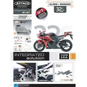SUPPORT ADAPTABLE 32 HONDA CB1000RR (2008-…) CBR600RR (2007-…)