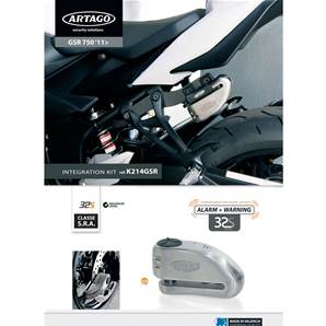 SUPPORT ADAPTABLE 32 SUZUKI GSR750 (2011-…)