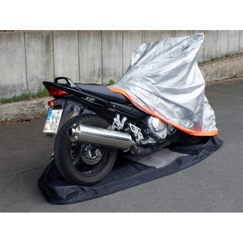 Housses enti res protection extr me housse int grale de for Housse protection moto