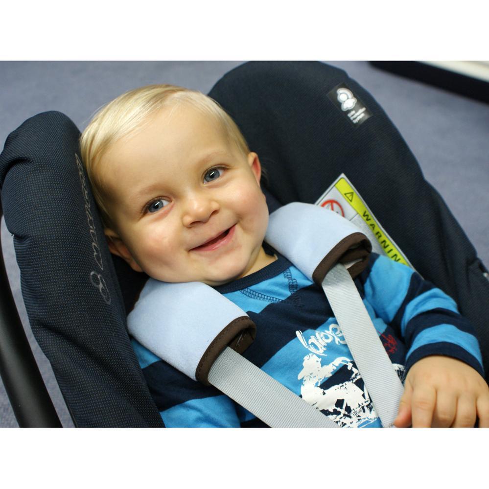 enfants accessoires de voyage coussin de ceinture pour si ge auto et poussette. Black Bedroom Furniture Sets. Home Design Ideas
