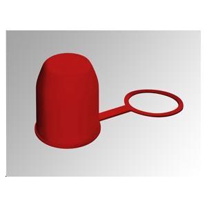 remorque accessoires crochets et t tes cache boule pvc rouge avec bague. Black Bedroom Furniture Sets. Home Design Ideas